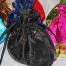 Wholesale 50 CHINESE Sequined Brocade SILK HANDBAG