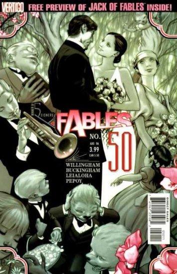 DC Comics Vertigo FABLES 50 - 57 Willingham Buckingham Leialoha Ha Middleton Allred Jean