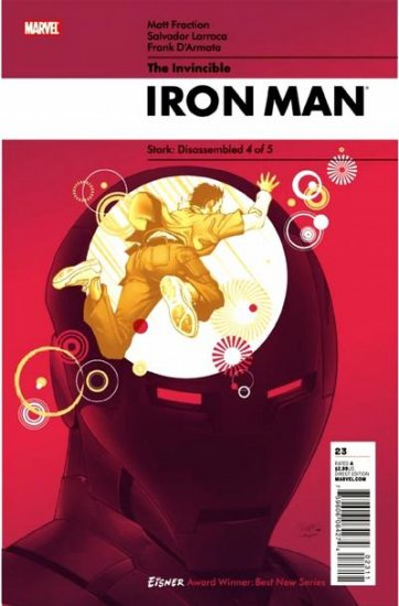 Marvel Comics INVINCIBLE IRON MAN 23 Matt Fraction Salvador Larroca STARK: DISASSEMBLED 4 (of 5)