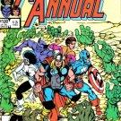 Marvel Comics AVENGERS ANNUAL 13 Stern Ditko Byrne CAPTAIN AMERICA HULK THOR