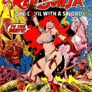 Marvel Comics RED SONJA SHE-DEVIL WITH A SWORD 1 Roy Thomas Frank Thorne CONAN