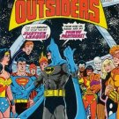 DC Comics BATMAN AND THE OUTSIDERS 1 Mike W. Barr Jim Aparo BLACK LIGHTNING JLA METAMORPHO