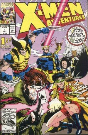 X men comic book series