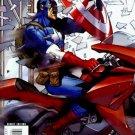 Marvel Comics ULTIMATE COMICS AVENGERS 1 VARIANT 2nd Print EDITION Millar Pacheco CAPTAIN AMERICA