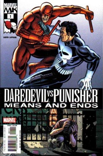 Marvel Comics DAREDEVIL VS. PUNISHER Means and Ends 1 - 6 David Lapham