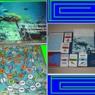 UNDERSEA WORLD the COUSTEAU jacques VINTAGE of sea GAME