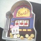 WILTON gamble SLOT MACHINE poker INSERT casino CAKE PAN
