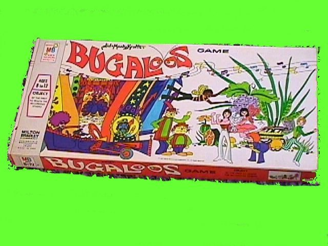 BUGALOOS sid and marty KROFFT kroft VINTAGE toy board GAME