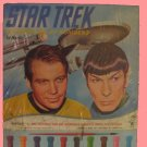 STAR TREK vintage PAINT BY NUMBER play playset SET in original SEALED oss 1967? old BOX
