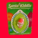 SANTA on card ORNAMENT kiddle liddle KIDDLES carded VINTAGE holiday DOLL