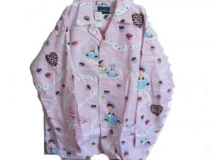 I LOVE LUCY candy CHOCOLATE FACTORY nick & nora PAJAMAS with TAG x l? size XL?