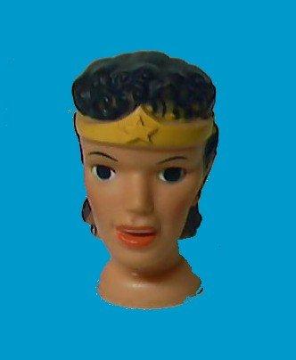 WONDER ideal WOMAN toys 1966 vintage PUPPET doll HEAD