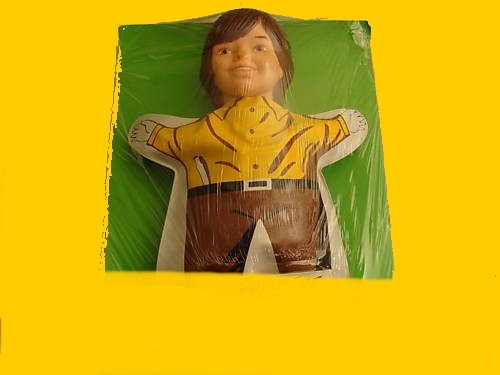 JIMMY with FLUTE graphic on hold JACK wild VINTAGE costume REMCO hr PUFNSTUF doll PUPPET