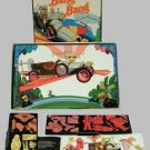 CHITTY chitty BANG bang VINTAGE playset car+ COLORFORMS