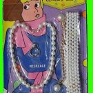 PENELOPE PITSTOP toy VINTAGE pearl BELT playset JEWELRY