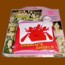 CHARLIE'S charlies ANGELS on card VINTAGE playset PURSE