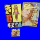 SINDY paper DOLL playset VINTAGE clothes toy COLORFORMS