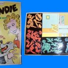 BLONDIE paper doll VINTAGE dagwood playset COLORFORMS