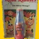 ORANGE on OLIVIA card KOLA kiddle liddle KIDDLES carded VINTAGE cola DOLL