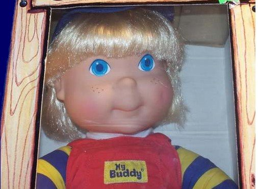 My Buddy Blonde In Clubhouse Box Real Pal Vintage Doll
