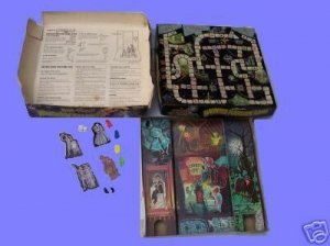 HAUNTED disney MANSION the FREE shipping VINTAGE classic LAKESIDE 70s seventies GAME