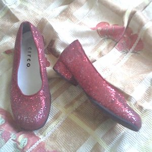 DOROTHY costume RUBY the wizard size 1.5 1 1/2 of oz free shipping SLIPPERS shoe SHOES