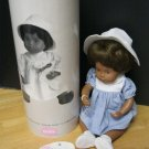 "SASHA baby JULIA by gotz 2001 12"" 12 twelve inch DOLL in TUBE!"