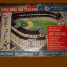 CHALLENGE the YANKEES vintage BASEBALL mickey mantle CARD holy grail type GAME