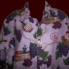 I LOVE LUCY episode ITALIAN MOVIE italy GRAPE STOMPING nick & nora PAJAMAS with TAG medium size MED