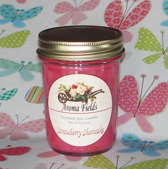 Strawberry Shortcake - Highly Scented Soy Candle