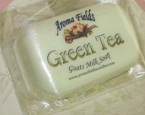 Green Tea - All Natural Goat Milk Soap