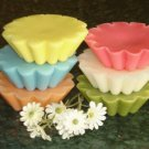 4 Highly Scented Soy Wax Tarts - Your Fragrance Choice