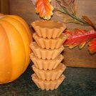 Pumpkin Pie - 4 Highly Scented Soy Wax Tarts