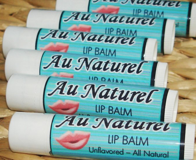 Natural Luscious Lip Balm - Au Naturel (Unflavored)