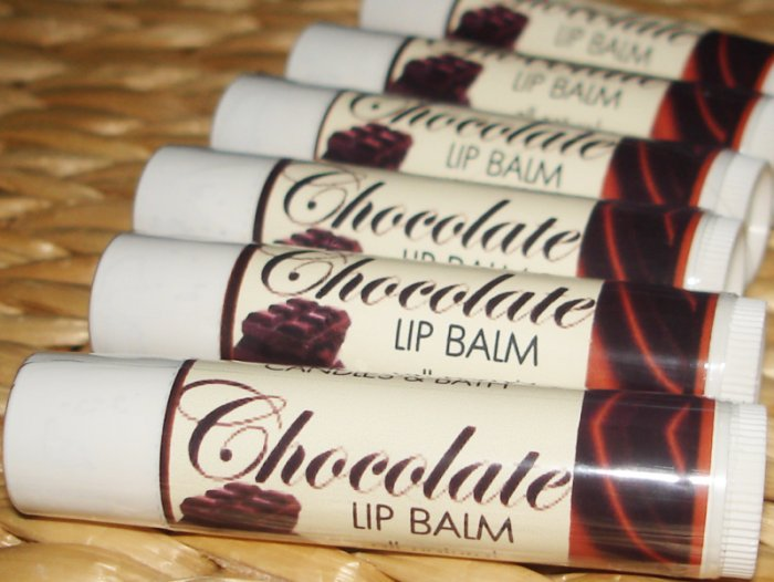 Natural Luscious Lip Balm - Chocolate