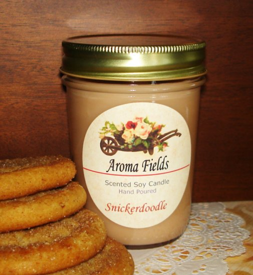 Snickerdoodle - Highly Scented Soy Candle