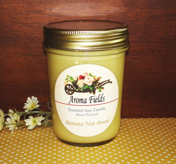 Banana Nut Bread - Highly Scented Soy Candle