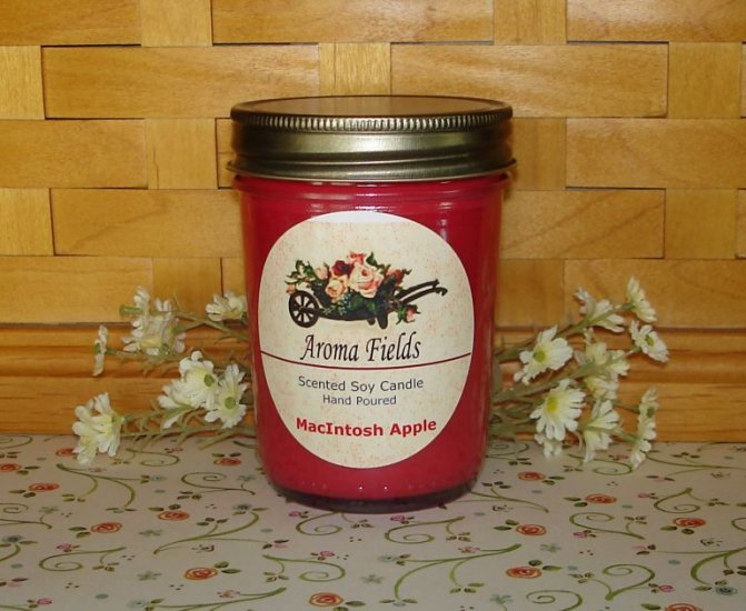 MacIntosh Apple - Highly Scented Soy Candle