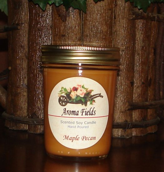 Maple Pecan - Highly Scented Soy Candle