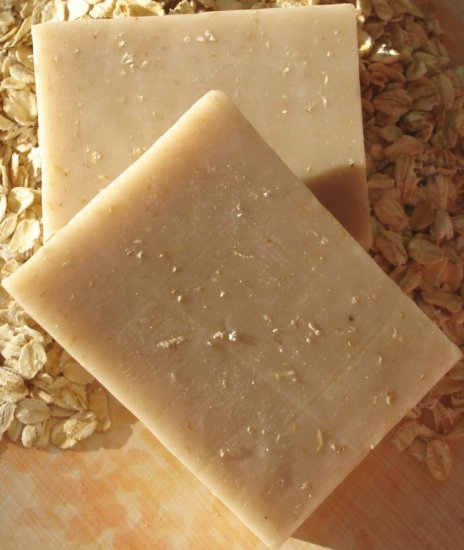 Oatmeal Milk & Honey - All Natural Goat Milk Soap
