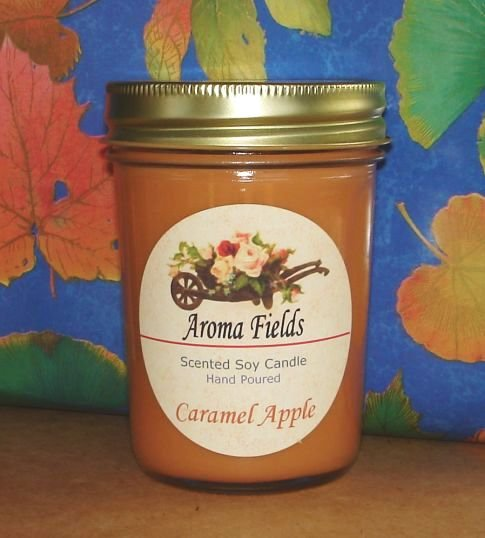 Caramel Apple - Highly Scented Soy Candle
