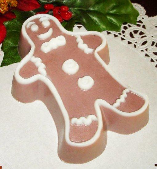 Gingerbread Man Holiday Soap - All Natural Goats Milk Soap