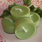 Four Soy Tealight Candles - Mistletoe Holiday Fragrance
