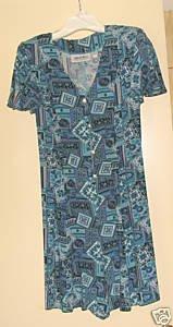 Ladies Caroline Wells Short Culotte Dress- size small