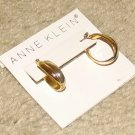 Costume Jewelry Anne Klein Goldtone Hoop Earrings for Pierced Ears