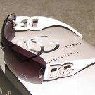 New 2015 DG102 White, Silver Fashion Sunglasses FREE SHIPPING