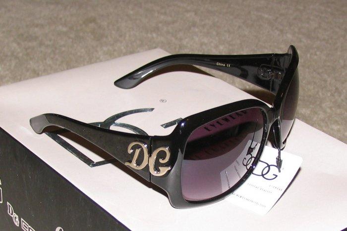New 2015 DG308 Black, Silver Fashion Sunglasses