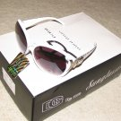 NEW 2015 DG1229  Black with Exotic Zebra Arm Fashion Sunglasses FREE SHIPPING!