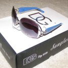 NEW 2015 DG1006 Womens Fashion Sunglasses Blue Teal/Silver Metal  FREE SHIPPING!