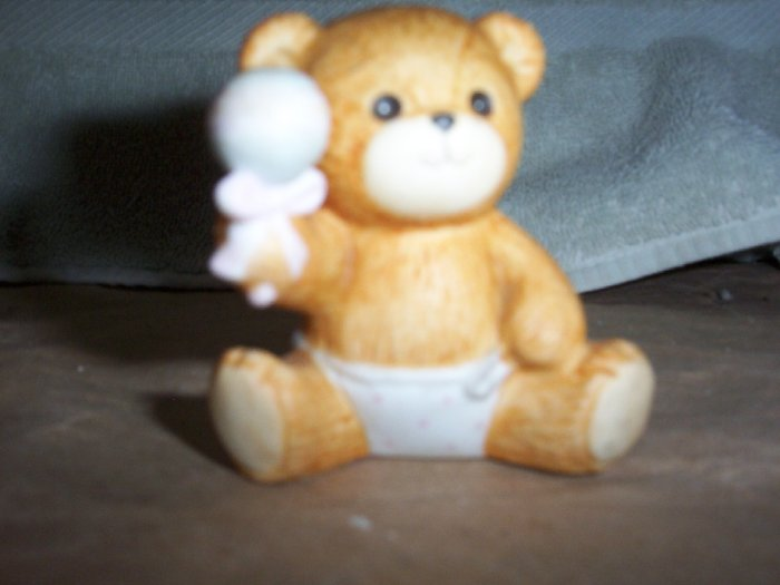 Enseco Baby Bear with Rattle